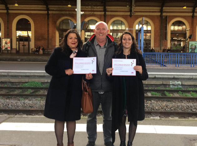 La SNCF a attribué 2 000 € à la Ligue qui interviendra avec son programme Elira (Ecoute, lien, rencontre, atelier) auprès des membres de l'association montpelliéraine Jasmin d'Orient.