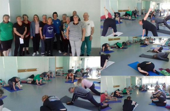 En Corrèze, l'association Asapes 19 (Aide et soutien aux personnes en surpoids de la Corrèze), créée en février 2013, développe depuis 2017 les séances de yoga. Et cette activité remporte un vif succès auprès de la soixantaine d'adhérents.