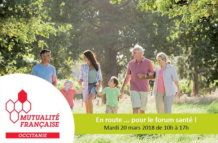 Retrouvez nous au forum santé organisé à Nîmes par la Mutualité Française et ADREA.