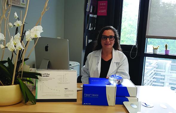 Elle parle cash Mme Al Samman, chirurgien viscéral et désormais nouvelle présidente régionale Rhône-Alpes de la LCO.