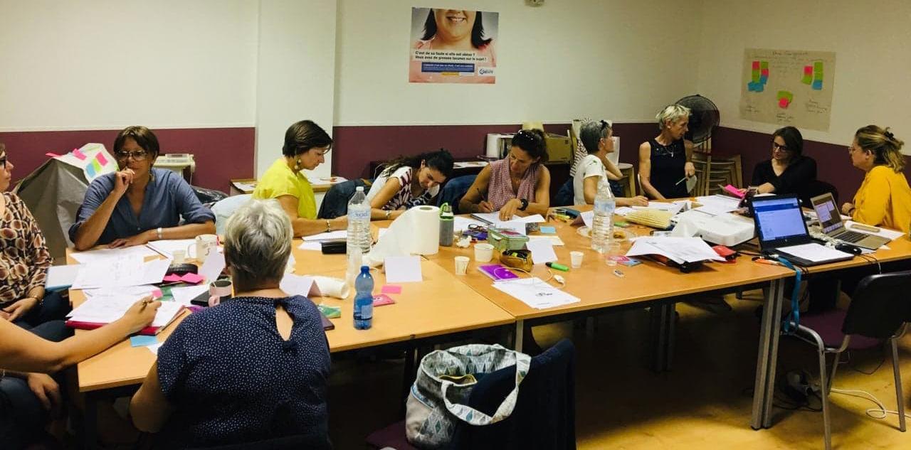 Des diététiciennes, des infirmiers et des infirmières, des psychologues, des patients... la toute première formation organisée par la Ligue contre l'obésité (LCO) se déroule depuis le mercredi 11 septembre dans les locaux montpelliérains.
