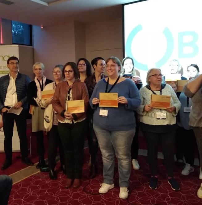 A l'occasion des 4èmes Rencontres des Idées fortes à Montpellier, le Prix Santinov a été attribué à deux structures associatives : Némo Nîmes Obésité et Chrysalides.