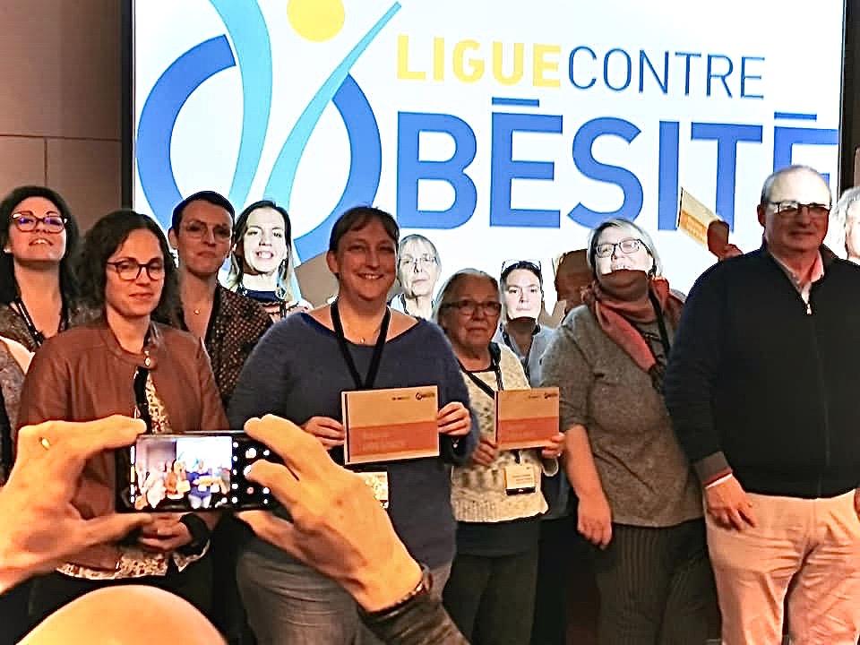 Le congrès des Idées fortes à Montpellier, qui s'est déroulée du 15 au 17 novembre, a été l'occasion d'attribuer la Bourse Obesinov à plusieurs associations qui nourrissent de beaux et intenses projets. Un coup de pouce financier qui permet à chaque structure de poursuivre et d'intensifier son activité pour le plus grand bénéfice des patients.