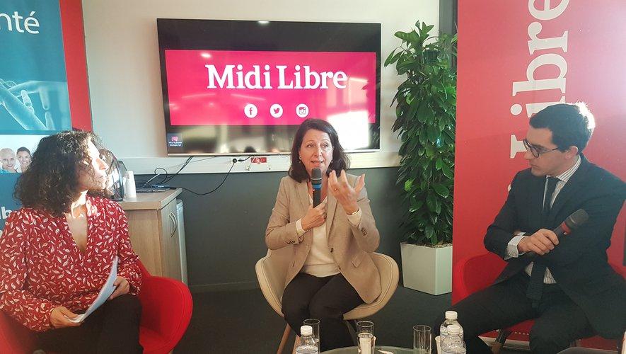 Dans le cadre du lancement du LabSanté du journal Midi Libre, Agnès Buzyn, ministre de la Santé a échangé, début janvier, avec des professionnels publics et privés réunis à Montpellier.