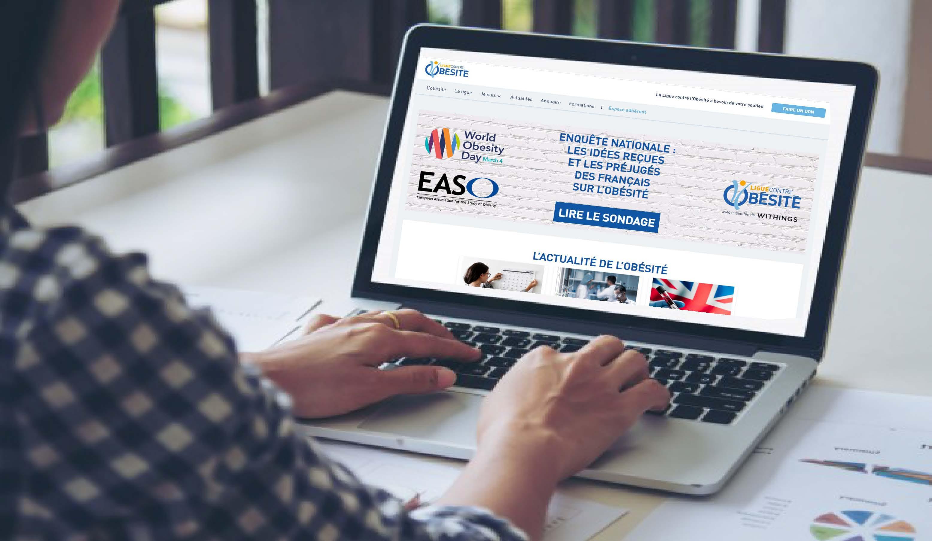 L'audience du site de la Ligue contre l'obésité poursuit sa progression. Au mois d'avril, 50 000 internautes ont consulté notre plateforme numérique. En tête des recherches : les sujets du poids, de l'obésité, l'actualité, etc.