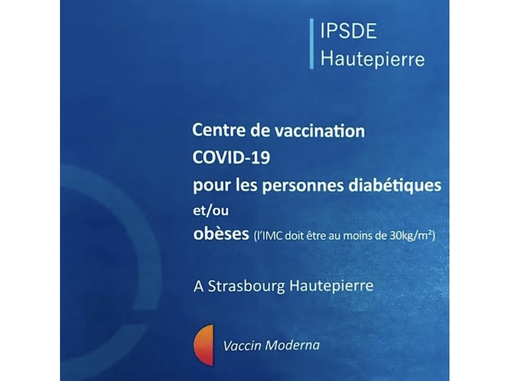 Les personnes atteintes de diabète ou en situation d'obésité payent un lourd tribut à la pandémie. En Alsace, plusieurs structures et institutions ont conjugué leurs efforts pour ouvrir un centre de vaccination dédié à ces patients à partir de 18 ans, alors qu'au niveau national le calendrier vaccinal ne l'autorise pas encore. Une première en France que la Ligue contre l'obésité et les patients souhaiteraient voir étendue...